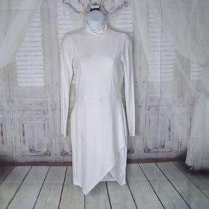 ASOS WHITE STRETCH DRESS